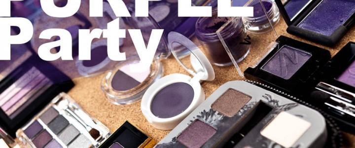Wie schminken Sie ein Hochzeitsmakeup mit violetten Smoky Eyes?